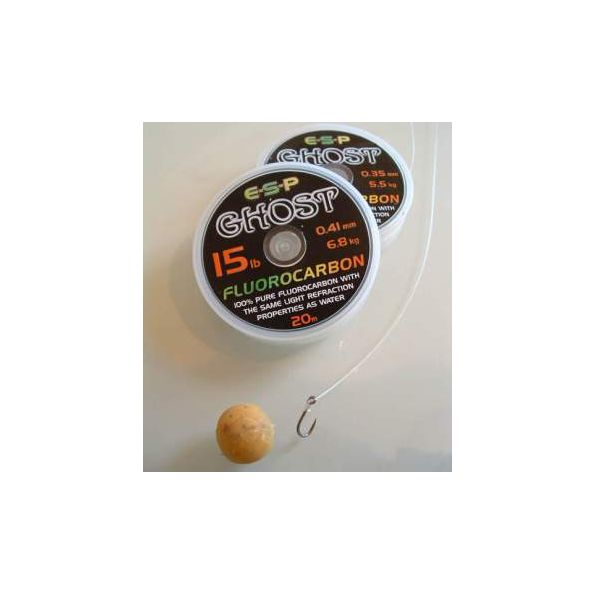 E.S.P Fluorocarbono GHOST 18 lbs 0.45mm 20 metros