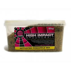 Mainline High Impact Pineapple Groundbait Cubo 2kg (engodo piña)