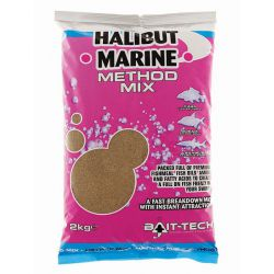 Bait-tech Engodo 2kg Halibut Marine Method Mix