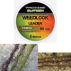 Prowess Leadcore Weedlook Marron 45lbs 5mtr