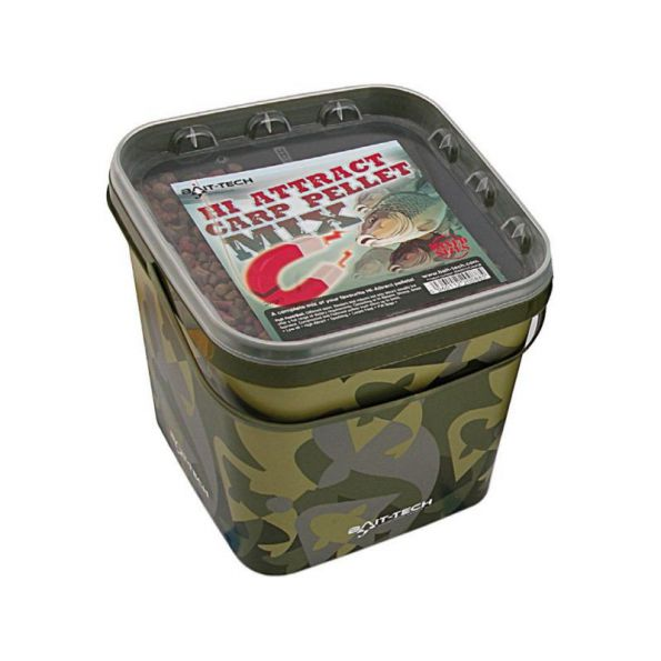 Bait-tech Pellet Mix Super Attract Carp cubo 3 Kg