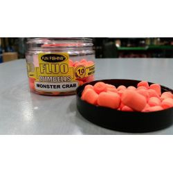 Fun Fishing Monster Crab Dumbell Fluor 10mm Pop Up Orange