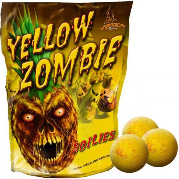 Radical Yellow Zombie Boilies 20 mm 1kg