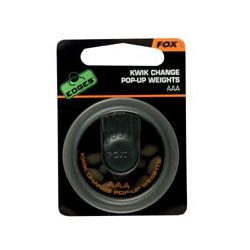 Fox Plomos para bajos EDGES™ Kwik Change Pop Up Weights AAA