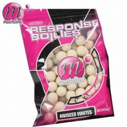Mainline Boilie Aniseed Whites Reponse 15mm 450g (Anis)