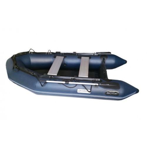 OZEAM Barca Hinchable 249m con suelo de madera y quilla (4 colores en stock)
