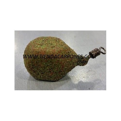 Carpones Cuadrado c/perrillo 120gr verde