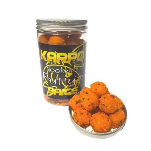 KarpoBaits Hookbaits Boilie 20mm Fruttis (Banana&melocoton)