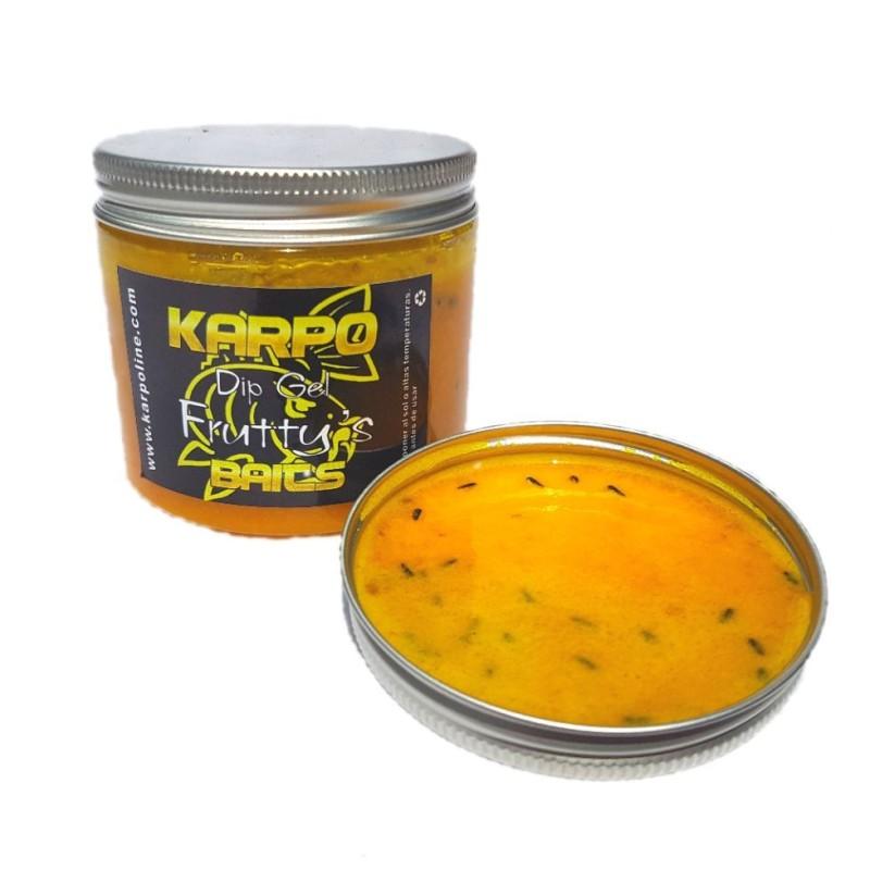 KarpoBaits Dip Gel Fruttys (Banana y Melocoton)