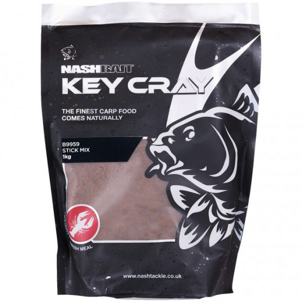 Nash Key Cray Stick Mix 1kg (Engodo para pva)