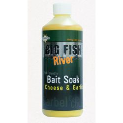 Dynamite Big Fish River Bait Soak Cheese & Garlic 500 ml