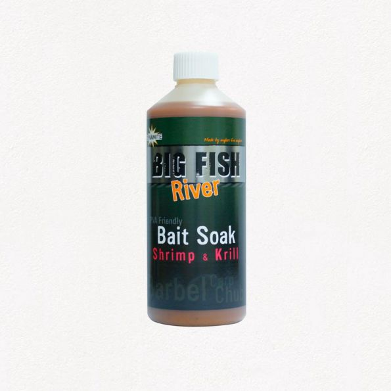 Dynamite Big Fish River Bait Soak shrimp&krill 500 ml