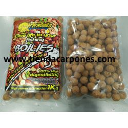 PeralBaits Boilies 20mm 1Kg Frutos Secos