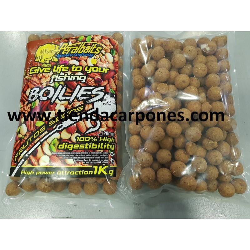 PeralBaits Boilies 20mm 1Kg Frutos Secos