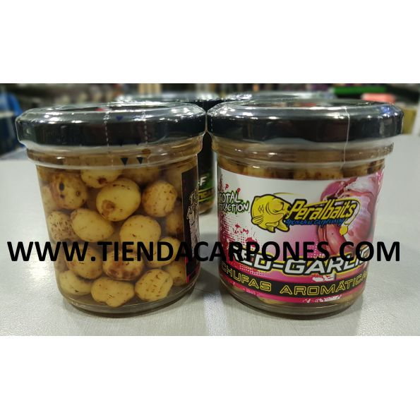 PeralBaits Chufas en remojo RED GARLIC