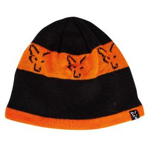 Fox Gorro Invierno Naranja-Negro