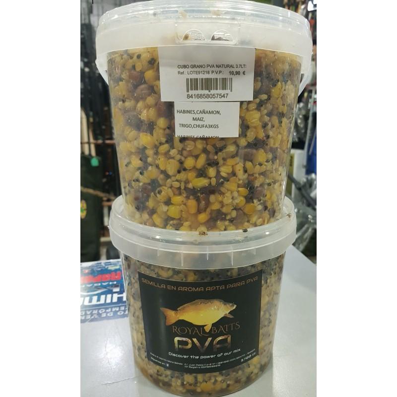 RoyalBaits Mix Natural Semillas PVA 3,7 lts