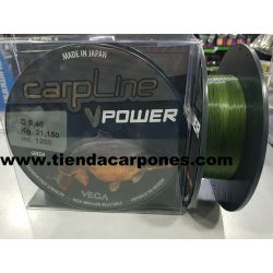 Vega Carp Line Power 0.40 mm Verde 1200m