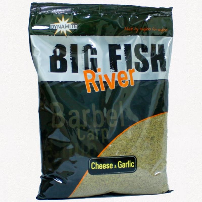 Dynamite Engodo Big Fish River Chesse&Garlic 1.8kg (QUESO Y AJO)