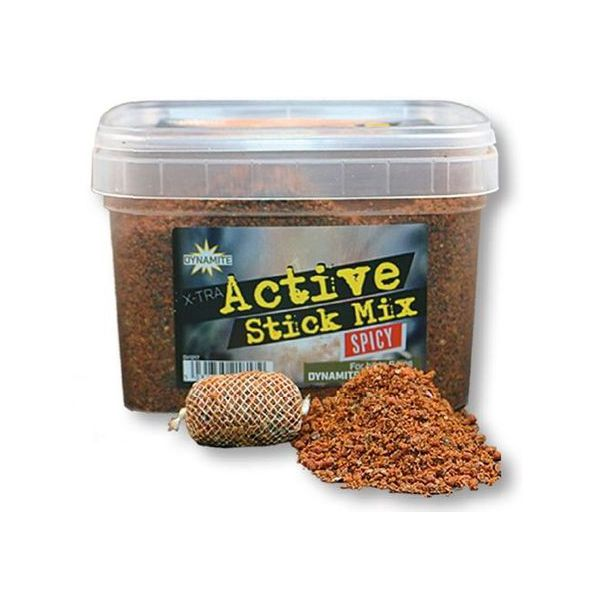 Dynamite Baits X-TRA Active STICK MIX SPICY 650gr