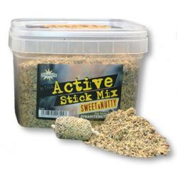 Dynamite Baits X-TRA Active STICK MIX SWEET&NUTTY 650gr (nuez dulce)