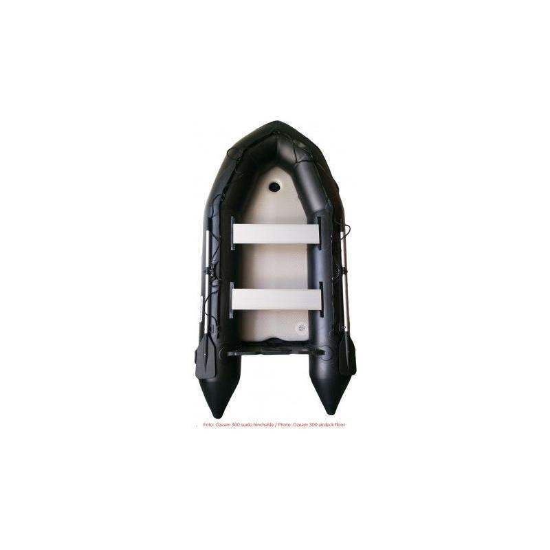OZEAM Barca Hinchable 280m con suelo de Madera (4 colores en stock)