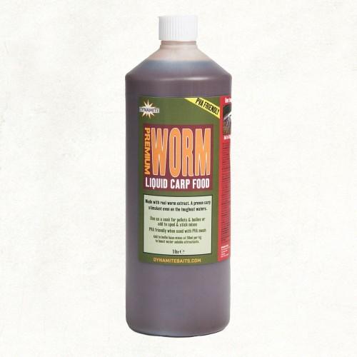 Dynamite Baits Liquid WORM 1lts (GUSANO)