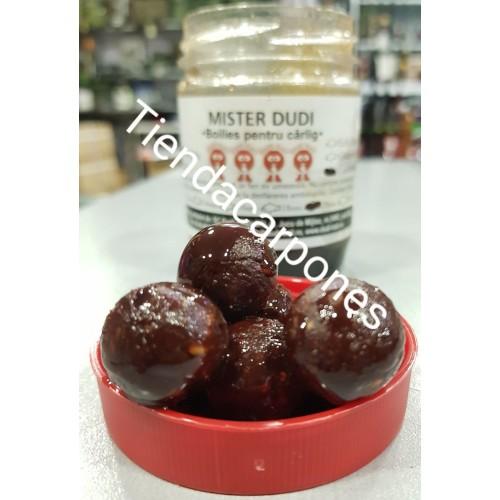 Dudi-Bait Hookbaits Solubles Caramelizados 20mm Mister Dudi 100gr