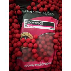 REAL DROPS BOILIE RED CRAB 20 mm 1 kg (CANGREJO (Novedad 2019)