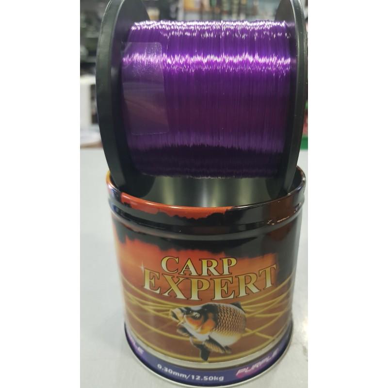 CARP EXPERT Nylon UV, PURPLE, 1000M 0,40mm/18.70kg