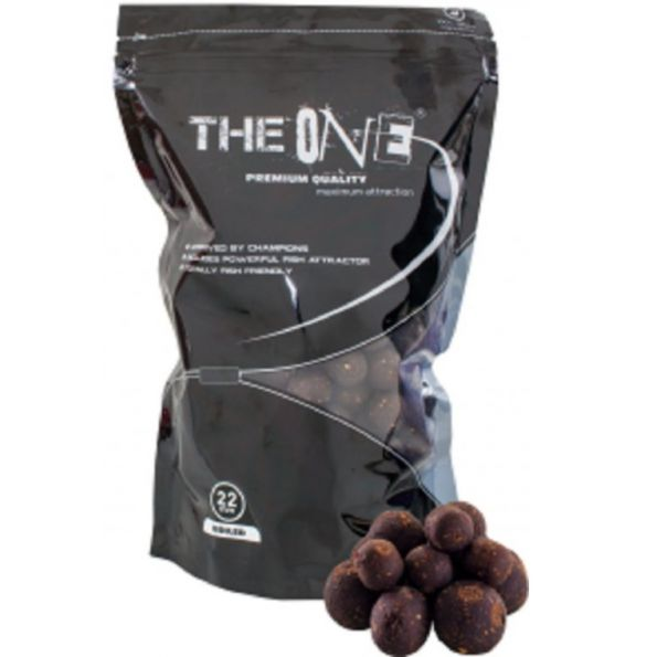THE ONE BOILIES SOLUBLE 22mm BLACK 1kg (especias)