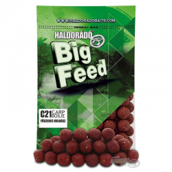 HALDORADO BIG FEED C21 BOILIE-SPiCY RED LIVER 800gr