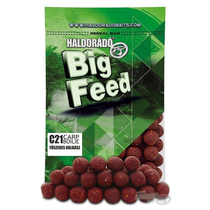 HALDORADO BIG FEED C21 BOILIE-SPiCY RED LIVER 800gr