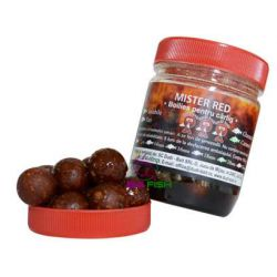 Dudi-Bait Hookbaits Solubles Caramelizados 20mm Mister Red100gr
