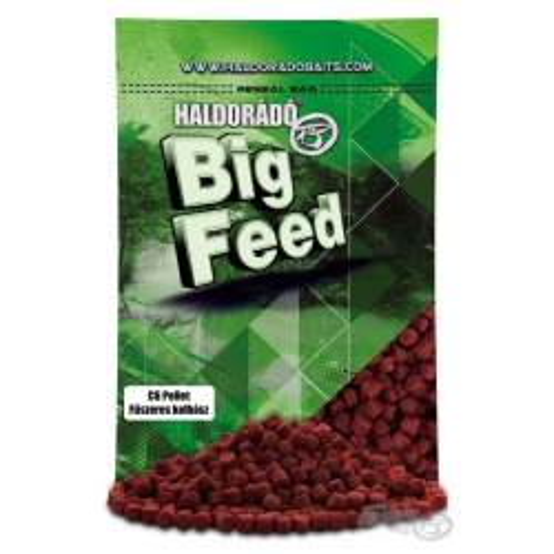 HALDORÁDÓ BIG FEED - C6 PELLET -FRANKFURT 900 g