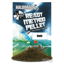 HALDORÁDÓ Ready Method Pellet 2mm 500gr - Chili
