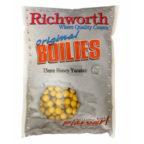 Richworth Original Boilies 20mm Honey Yucatan 1kg