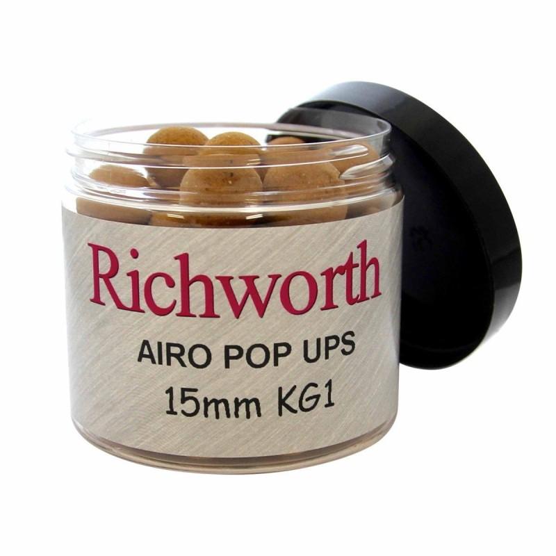Richworth Boilies flotantes Moule crabe 15mm CRAB MUSSEL