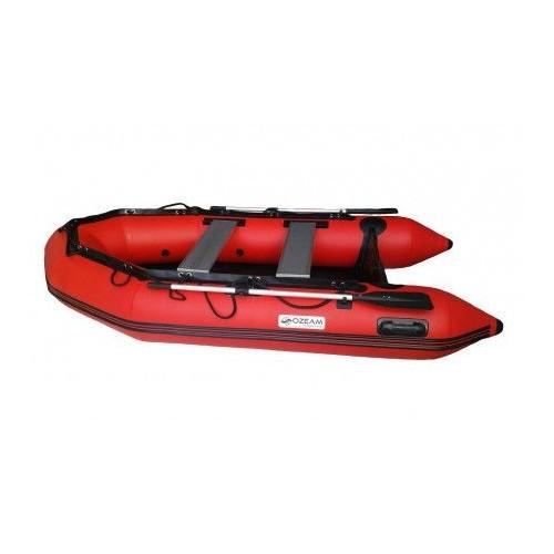 OZEAM Barca Hinchable 330m con suelo de Madera y quilla hinchable (4 colores en stock)