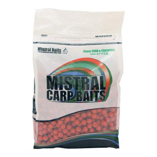 Mistral Boilies Crab&Crayfish 20mm 1Kg
