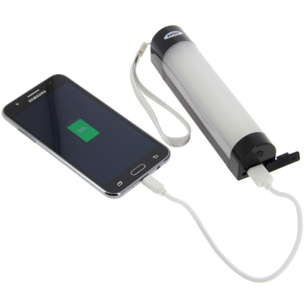 NGT Luz Bivvy grande 21 cm / Power Bank System