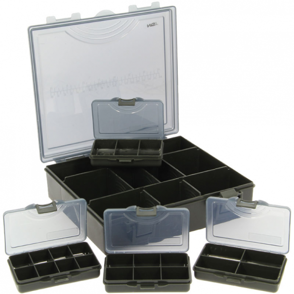 NGT Caja Tackle Box System 4+1 Negra