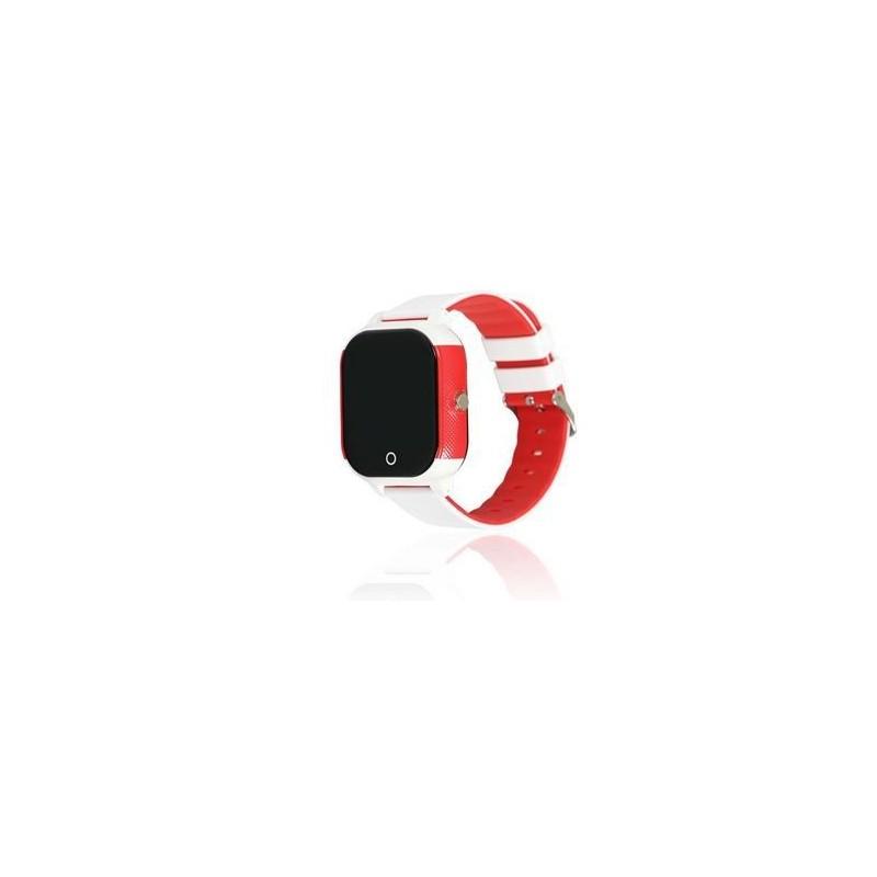 Reloj con GPS Acuático para preadolescentes y jóvenes. Blanco. Modelo Completo Junior.