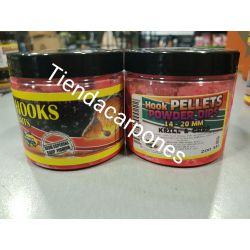 Poisson Hook Pellets 14-20mm Powder dip KRILL&CRAB 200ml