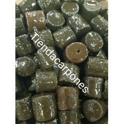 Poisson Cubo Pellets Halibut 20mm 3,5kg con aceite