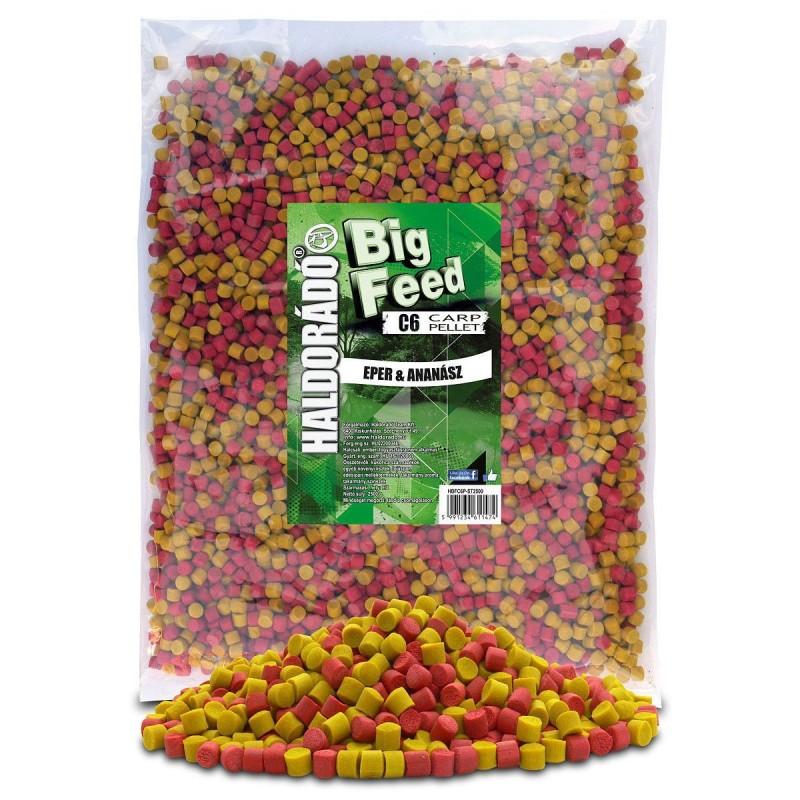 HALDORÁDÓ BIG FEED - C6 PELLET -Fresa&Piña 900 g