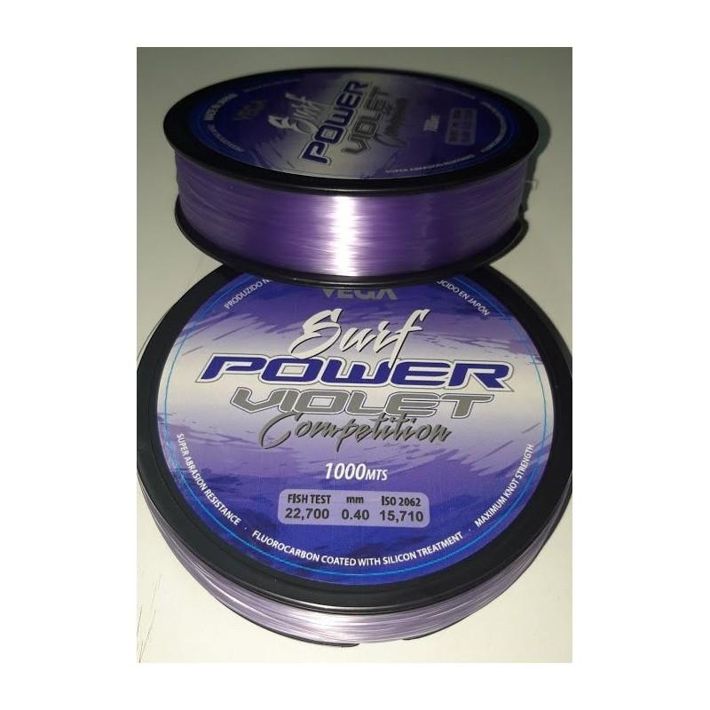 Vega Surf Power Violet Competition 0.40mm 15,7kg 1000mts