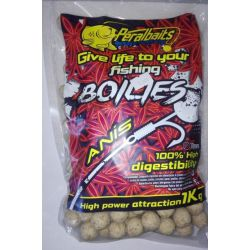 PeralBaits Boilies 20mm 1Kg ANIS