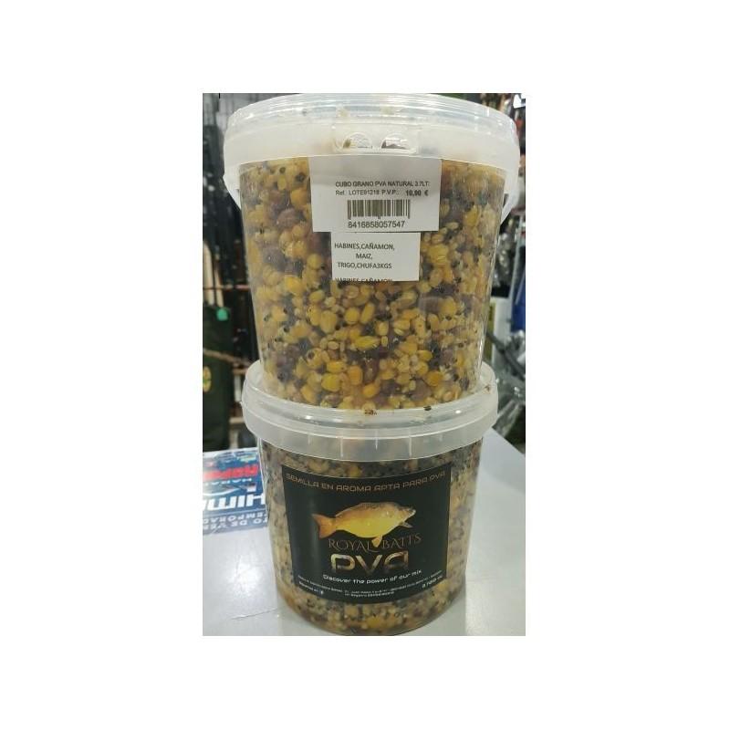 RoyalBaits Mix BANANA&COCO Semillas PVA 3,7 lts