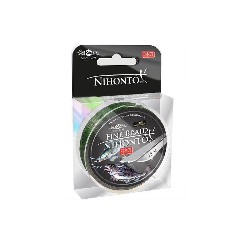 MIKADO trenzado Nihonto Braid 0.30mm 29.600kg 15m